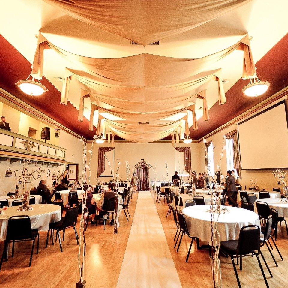 Grand Ballroom W Balcony Aerie Ballroom