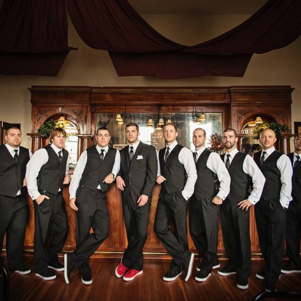Joash Brodin and Groomsmen